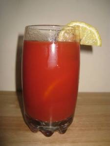 Bloody Mary with Fresh Squeezed Isopod Juice